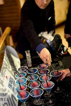 Cocktails at Chill Factore
