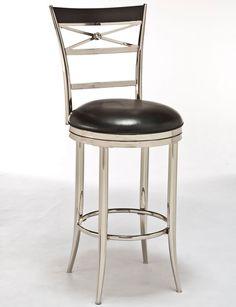 "Hillsdale Furniture 5172-830 30"" Kilgore Swivel Bar Stool"