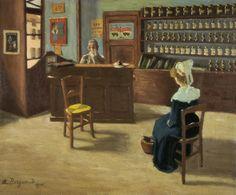 La consultation   1911 Marius Borgeaud