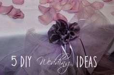 9 best 5 diy wedding ideas to help you save money images on do it yourself projects help save costs and make you more active in the solutioingenieria Image collections