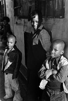 Dawoud Bey  Five Children, Harlem, NY  c.1976 | Gelatin silver print | 9 x 6 in.