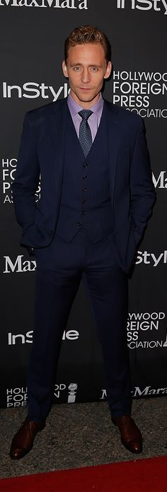 Tom Hiddleston attends the InStyle & HFPA party during the 2015 Toronto International Film Festival at the Windsor Arms Hotel on September 12, 2015 in Toronto. Full size image: http://ww4.sinaimg.cn/large/6e14d388gw1ew0t6ujunnj21jk2bc1kx.jpg Source: Torrilla