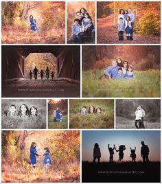 Bucks County Family Photographer Sihouette Shots Newtown, PA