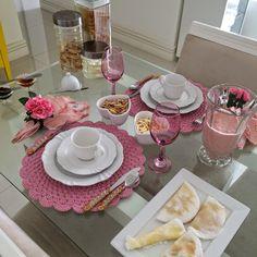 Decor Interior Design, Interior Design Living Room, Interior Decorating, Dining Ware, Dinning Table, Romantic Table Setting, Breakfast Plate, Breakfast Ideas, Afternoon Tea Parties