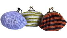 Monedero crochet patrón gratis