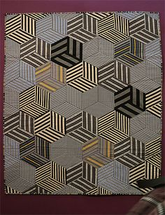 Shirt Quilts, Copper Art, Fabric Patterns, Quilt Blocks, Macrame, Pattern Design, Quilting, Diamonds, Bronze
