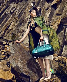 sun ting by man tsang for marie claire hong kong april 2013 | visual optimism; fashion editorials, shows, campaigns & more!