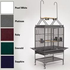 Mediana Playtop Bird Cage -- Additional info  : Dog cages