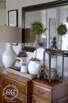VINTAGE SILVERWARE WALL ART DIY Dining Room Buffet