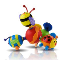 The first ever toy Reuben grabbed! The Nuby Twisty Bugz has a special place in my heart! #nubybaby
