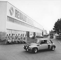 Renault Gordini factory - 1979