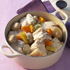 Découvrez la recette Blanquette de veau à l'ancienne sur cuisineactuelle.fr.