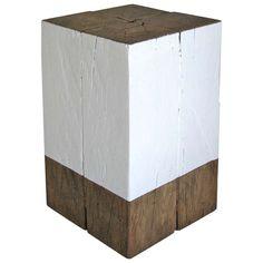 Reclaimed Wood Side Table - DIY idea