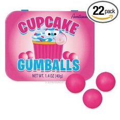 Cupcake Gumballs net wt. 1.4 oz by Accoutrements, http://www.amazon.com/dp/B00434MNJ0/ref=cm_sw_r_pi_dp_2w9Lrb1SQH95S