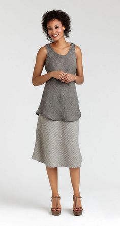 Gidget's flax apparel, linen clothing and all cotton clothing: All Around Gatsby, Flax Ltd. Too 2012, LTDToo12-AllAroundGatsby