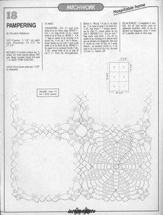Album Archive - Magic Crochet n° 69 Crochet Square Patterns, Crochet Chart, Crochet Motif, Crochet Doilies, Crochet Stitches, Crochet Tablecloth, Albums, Napkins, Candle Holders