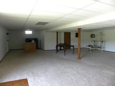 walk-out basement with bedroom