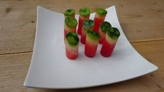 Excellent party/picnic idea >> ​Use An Apple Corer to Turn Watermelon Into Easy Finger Food
