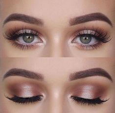Nice and natural makeup look for every day