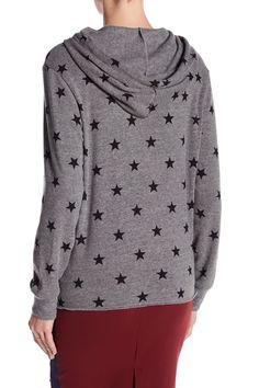 Alternative - Raw-Edge Star Hoodie is now 56% off. Free Shipping on orders over $100.