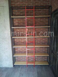 Книжный дизайнерский стеллаж с лестницей Stillage loft Ladder, Outdoor Structures, Stairway, Ladders