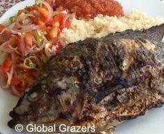 Poisson Braisé, Recipe for Ivory Coast's Famous Grilled Fish