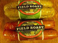 I love Smoked Apple Sage Field Roast Sausages! They're 100% vegan!  #MyVeganJournal
