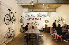 Hommie: The Little Mule Cafe + Bike Store