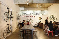 The Little Mule Cafe + Bike Store