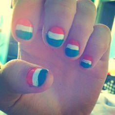 Ireland Flag Nails