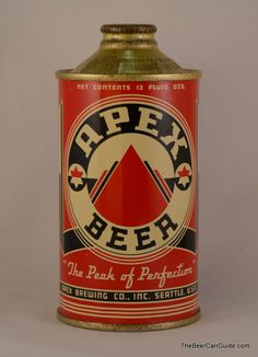 Kamisco Apex Beer and other trending products for sale at competitive prices. All Beer, Best Beer, Vintage Packaging, Vintage Labels, Beer Can Collection, Beer History, Old Beer Cans, Beer Brands, Craft Beer