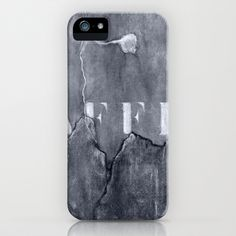 grey wall iPhone Case by agnes Trachet - $35.00