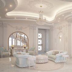 Enhance Your Senses With Luxury Home Decor House Ceiling Design, Ceiling Design Living Room, Home Room Design, Home Interior Design, House Design, Mansion Interior, Luxury Homes Interior, Luxury Home Decor, Villa