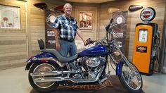 Congratulations Don on your purchase of a 2007 Softail Deuce from me here at Harley Davidson of Kokomo!