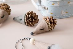 Søstrene Grene DIY Magazine Out Now - monsterscircus Modern Christmas Ornaments, Crochet Christmas Trees, Homemade Christmas, Diy Christmas Gifts, Christmas Things, Blue Christmas, Christmas Decor, Paper Ornaments, Cute Clay