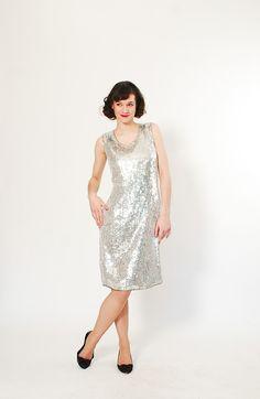 80s Sequin Dress