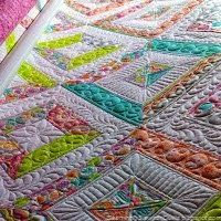 Baby Quilt, pieced and quilted by Susan Lawson at Seaminglyslawsonquilts.blogspot.com