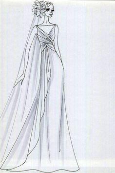 Alta moda disegni Elia Adamo