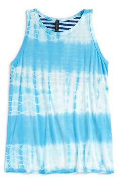 Gypsy Sky Tie Dye Tank (Big Girls) available at #Nordstrom