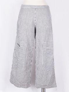 f207657b94b Big Pocket Pant in Awning Stripe Wide Leg Pants