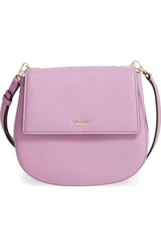 Adding this pastel purple crossbody by Kate Spade to the collection. A spacious interior with plenty of pockets keeps the essentials organized while on the go.