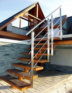 Venkovní schody musí být kvalitní, bezpečné a vkusné | Bydlení pro každého