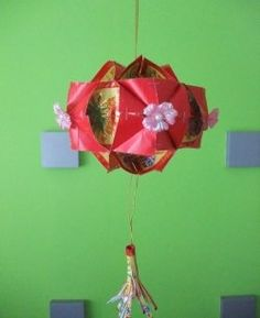 Diy chinese new year decor ang pow carousel lantern for Ang pow koi fish tutorial