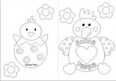 Biglietto di Pasqua con gallina e pulcino Easter Art, Art School, Snoopy, Coding, Symbols, Letters, Cards, Pictures, Painting