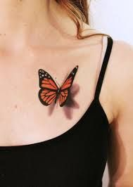 Resultat d'imatges de monarch butterfly tattoo