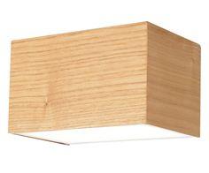 LEDlux Nord LED Up/Down Cube Wall Bracket in Teak | LED Lighting | Lighting