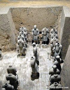 Xian Terracotta Army Pit No WwwChinaMemoCom  XiAn Food