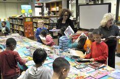Falling Creek Elementary book fair