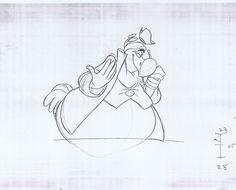 "Dodo ""Alice in Wonderland"" (1951) CHARACTER DESIGN REFERENCES"