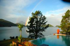 Rainbow at friend's house Elaine Bay